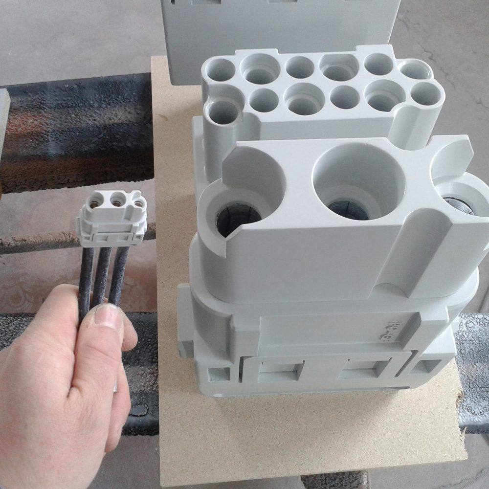 Messedisplay Heavycon Bauphase