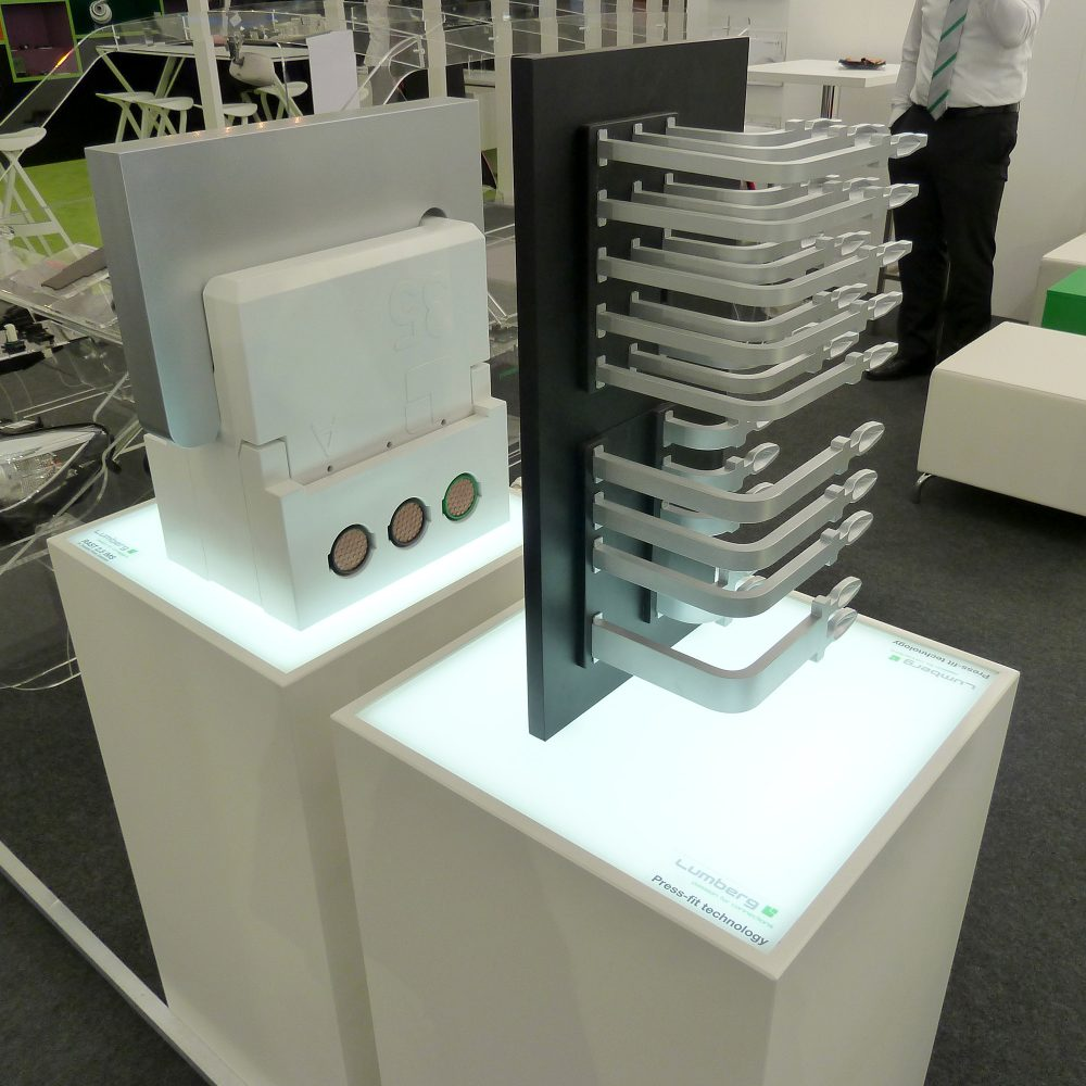 Press-fit technologie Messemodell