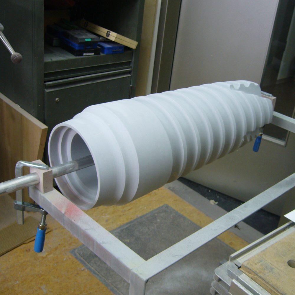 Zeramex Display Bauphase