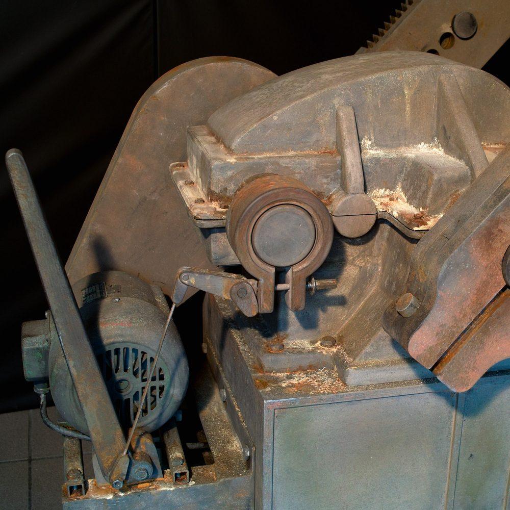 Pferdekopfpumpe Messeobjekt Detail