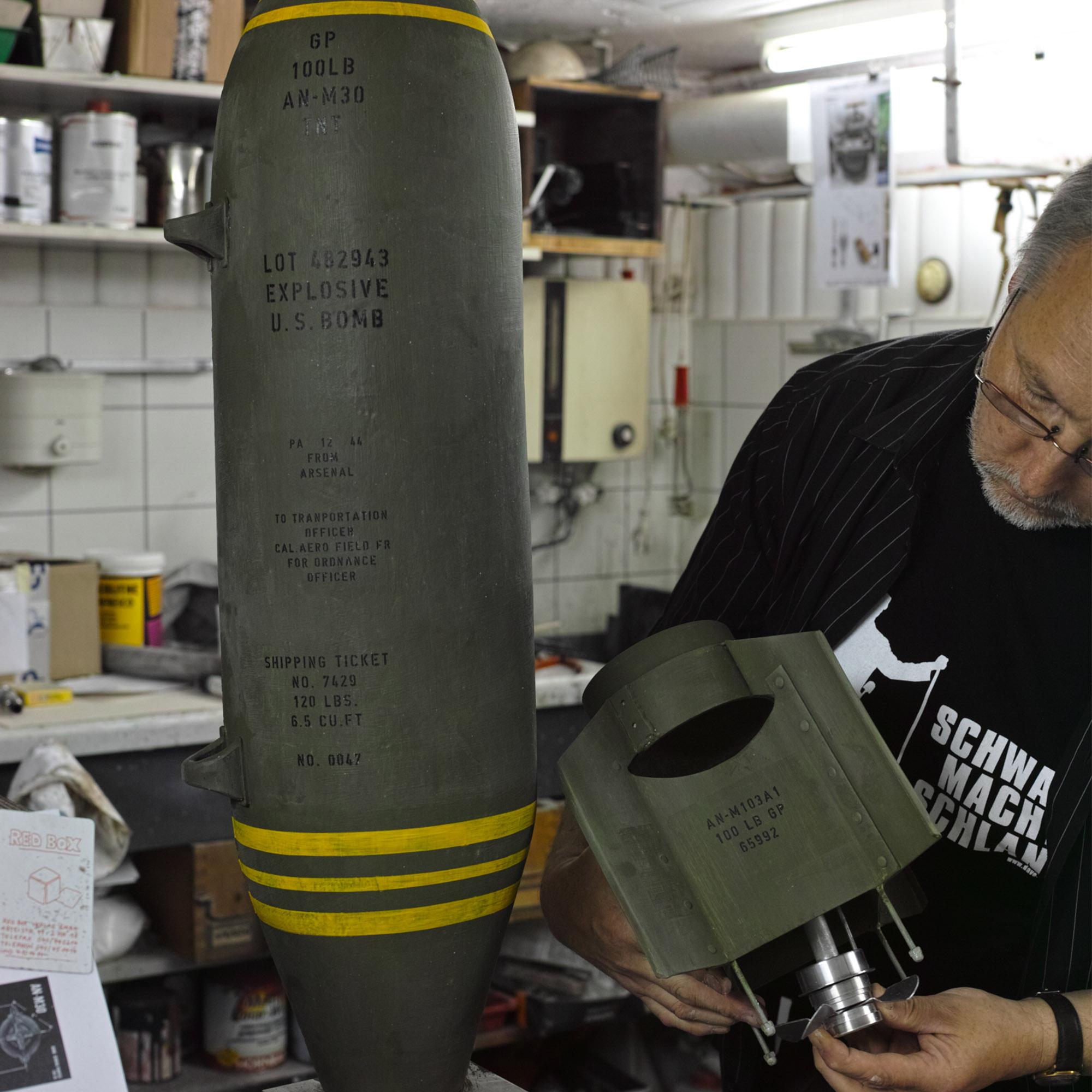 WK II Bombe Attrappe