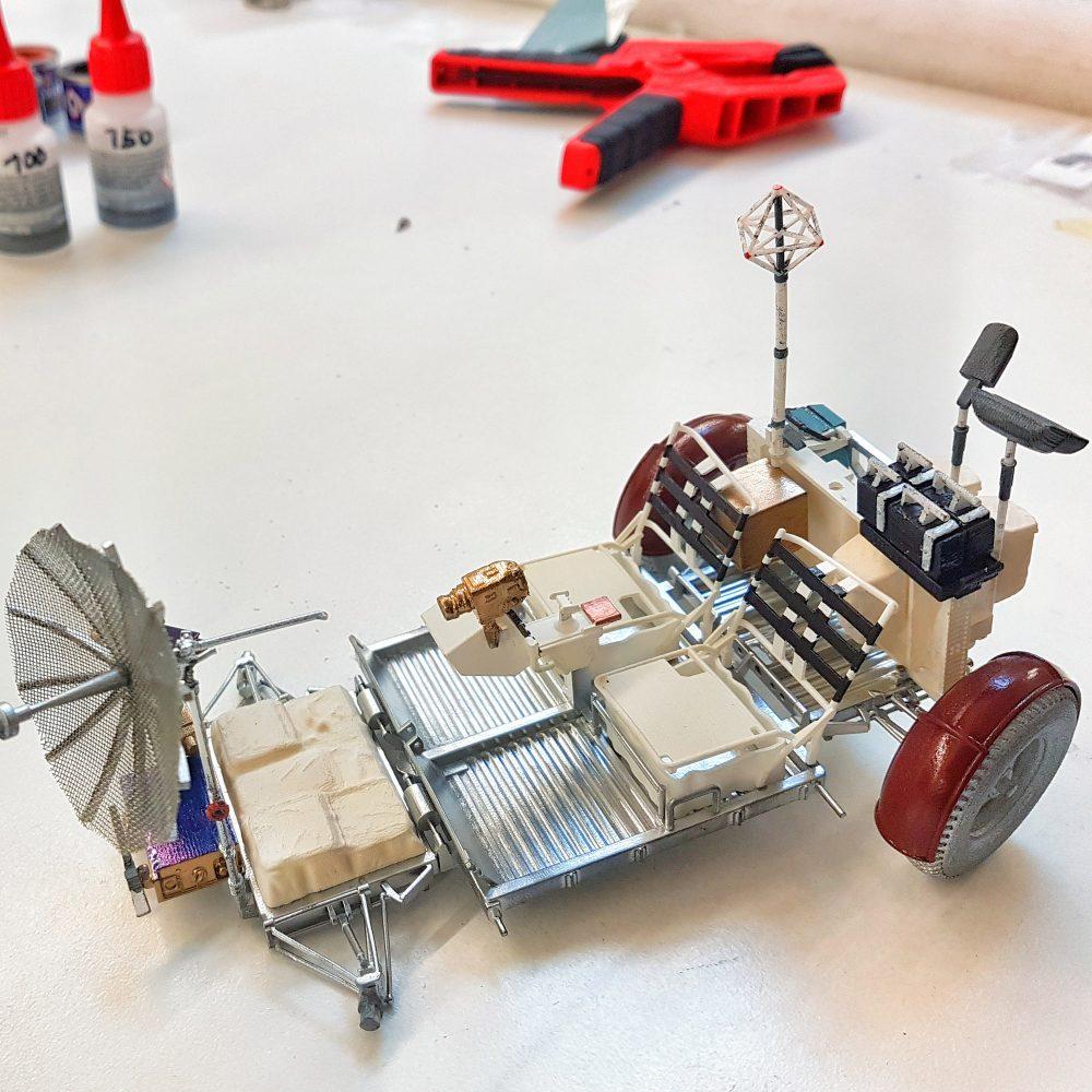 Lunar Rover Bauphase