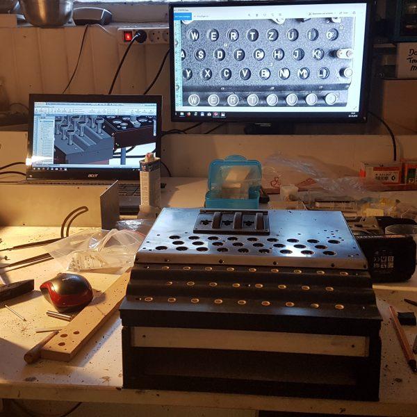 Enigma Nachbau Teile-Rekonstruktionen