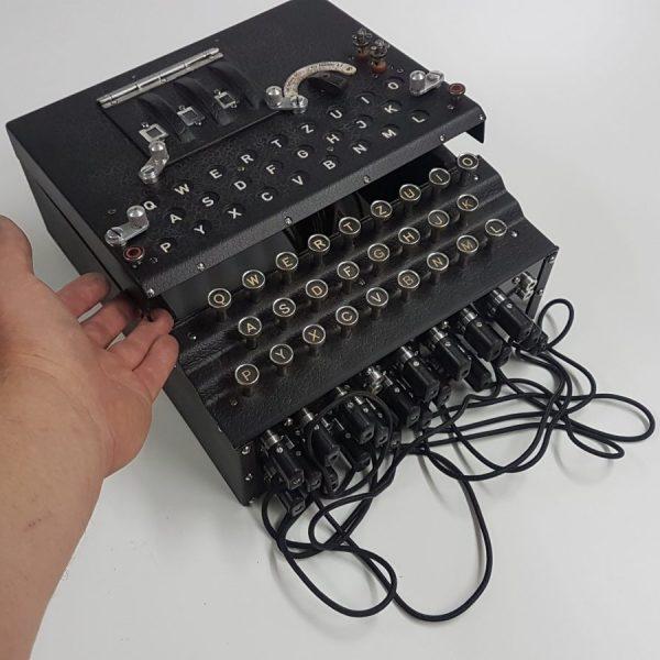 Enigma M3 Replik mit Deckel